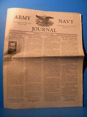 Army & Navy Journal 1946 March 9 1946 Vol 83 No 28