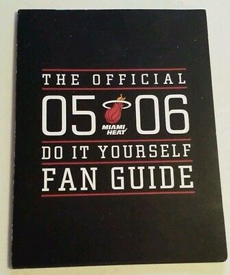 MIAMI HEAT 2005-06 The Official Do It Yourself Fan Guide NBA BASKETBALL Hoops