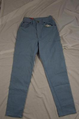 Vtg 50s 60s Lady Lee Riders Stretch Denim Jeans Measure 26x28 Leather Patch Rare