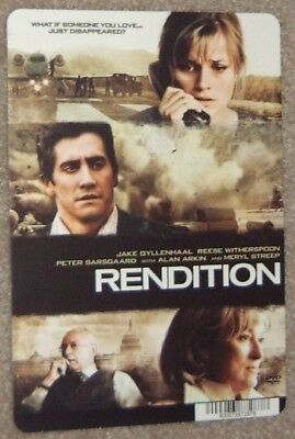 RENDITION promo art card REESE WITHERSPOON, JAKE GYLLENHAAL