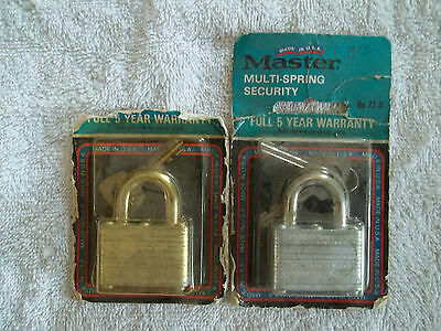Lot Sale Of   16  Keyed Different  Master Locks   22D