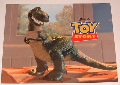 Toy Story movie poster print - Rex, Dinosaur poster - 11 x 14 inches
