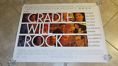 Cradle Will Rock movie poster - John Cusack poster