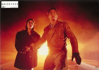 ROCKETEER movie poster print (D) - BILL CAMPBELL, JENNIFER CONNELLY