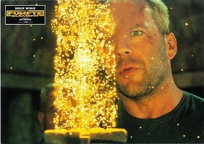 The Fifth Element movie poster - German style print # 3 - Bruce Willis