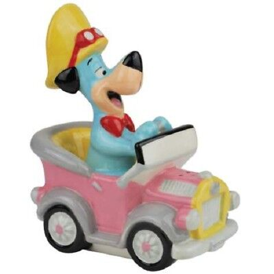 Hanna Barbera Huckleberry Hound in car Salt and Pepper Shakers 23401 S&P New