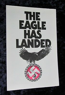 THE EAGLE HAS LANDED british synopsis sheet MICHAEL CAINE, DONALD SUTHERLAND