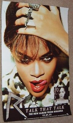 Rihanna poster -  Talk That Talk - promotional poster - 11 x 17 inches