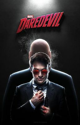 Daredevil poster (d) -  11 x 17 inches - Charlie Cox