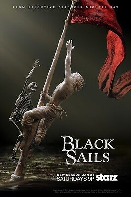 """Black Sails poster (c) - Pirate poster 11"""" x 17"""" inches"""