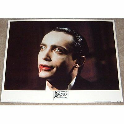 Andy Warhol's Blood For Dracula lobby card print - Udo Kier - 11 x 14 inches