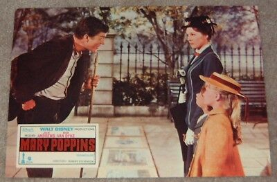 Mary Poppins lobby card - Julie Andrews print # 7