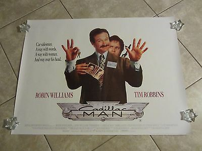 Cadillac Man movie poster - Robin Williams, Tim Robbins