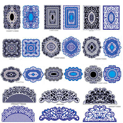 Lots Metal Cutting Dies Stencil DIY Scrapbooking Embossing Paper Card Craft Tool