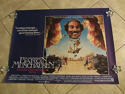 ADVENTURES OF BARON MUNCHAUSEN movie poster TERRY GILLIAM