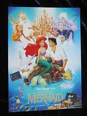 Walt Disney's THE LITTLE MERMAID british synopsis and credits