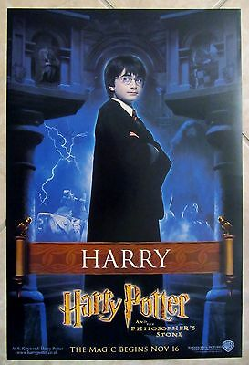 Harry Potter movie poster (set of 4 posters) Daniel Radcliffe