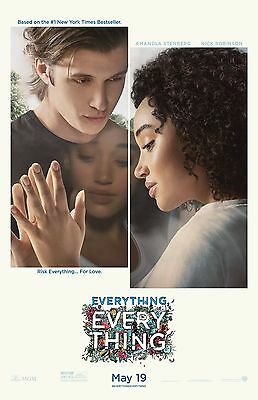 """Everything Everything movie poster  - 11"""" x 17"""" inches"""