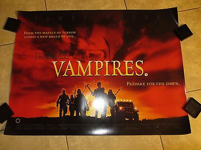 John Carpenters Vampires movie poster - 30 x 40 inches - Horror