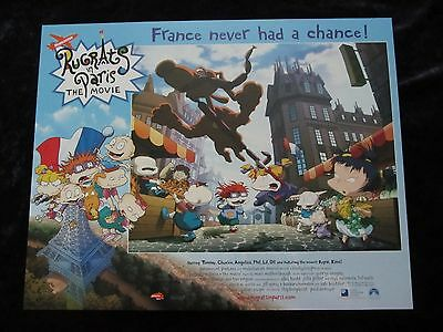Rugrats lobby cards - Rugrats In Paris lobby cards - Nickelodeon