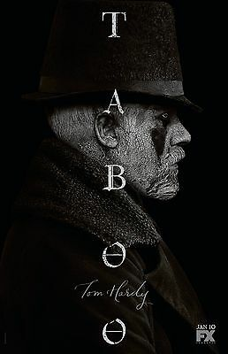 Taboo poster -  11 x 17 inches - Tom Hardy poster
