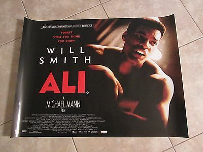 Ali movie poster - Will Smith, Muhammad Ali, Boxing