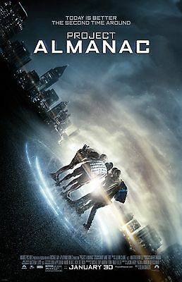 """Project Almanac movie poster  - 11"""" x 17""""  inches"""