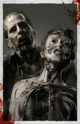 The Walking Dead poster print  : (Zombies Style b) : 11 x 17 inches
