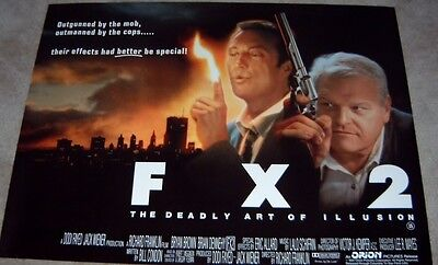 FX 2 The Deadly Art Of Illusion movie poster - Bryan Brown - 30 x 40 inches