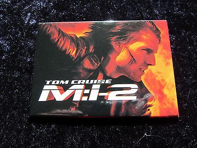 Mission Impossible promotional pin badge - Tom Cruise, Mission Impossible 2