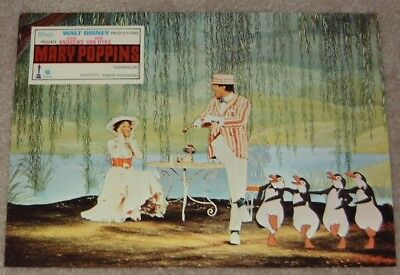 Mary Poppins lobby card print # 6 - Julie Andrews