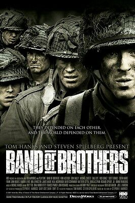 Band Of Brothers poster print : 11 x 17 inches