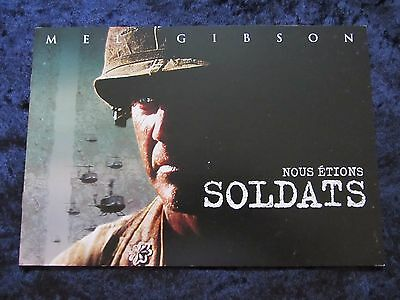 We Were Soldiers press book - 24 pages - Mel Gibson