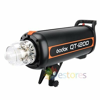 GODOX QT-1200 1200W Camera Photography Studio Strobe Flash Light Lamp Head 220V