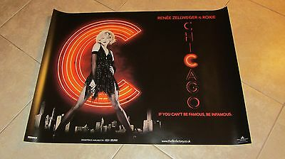 Chicago movie poster Renee Zellweger poster - 30 x 40 inches