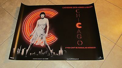 Chicago movie poster - Catherine Zeta Jones poster - 30 x 40