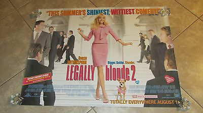 Legally Blonde  2 movie poster (b) Reese Witherspoon poster