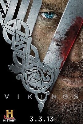 Vikings poster print  :  11 x 17 inches - Travis Fimmel poster