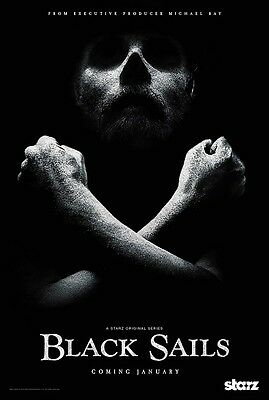 """Black Sails poster (a) - Pirate poster 11"""" x 17"""" inches"""
