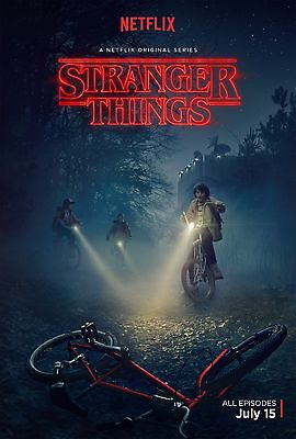 Stranger Things poster (b)  -  11 x 17 inches