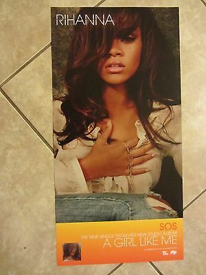 Rihanna  poster - A Girl Like Me - 12 x 24 inches