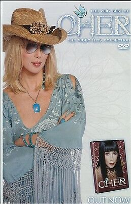 Cher poster - The Very Best Of Cher  : promo poster - 11 x 17 inches