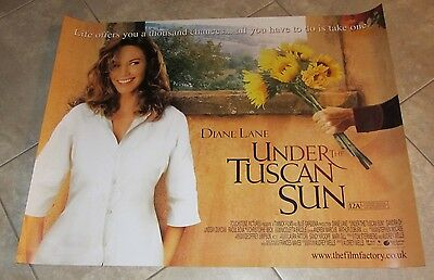 Under The Tuscan Sun movie poster - Diane Lane poster