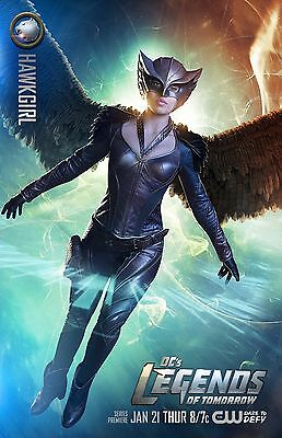Legends Of Tomorrow poster (g) -  11 x 17 inches (Hawkgirl)