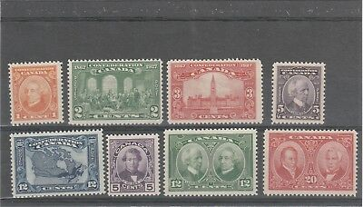 Canada 1927 Kgv 1 X Sg266-270 And 1 X Sg271-273 Mint Set Of Stamps