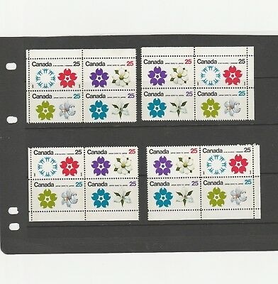 Canada 1970 Qeii Sg650-Sg653 Mint No Hinged World Fair Matching Set Of Stamps