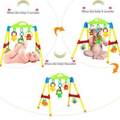 Multifunctional Music Activity Play Mat Baby Gym Educational Fitness Frame Toys