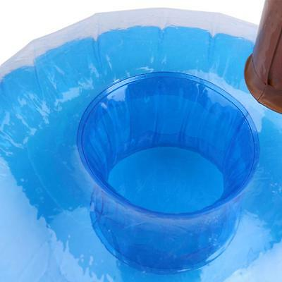Mini Inflatable Floating Swimming Pool Bath Beach Drink Cup Beer Holder