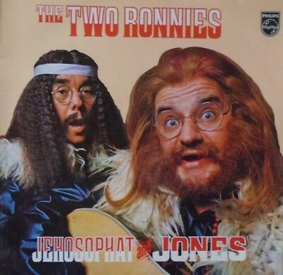 TWO RONNIES - Jehosophat & Jones ~ VINYL LP