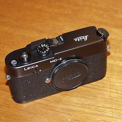LEICA MD-2  BLACK camera body M bayonet Leitz CANADA early 1980 number 1531789